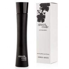 Giorgio Armani Code Couture Edition pour femme edp 75 ml