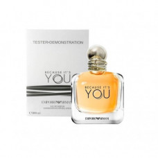 Tester Emporio Armani Because It's You 100 мл