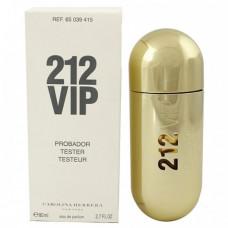 Tester Carolina Herrera 212 Vip For Women 80 ml