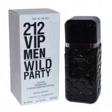 ТЕСТЕР CAROLINA HERRERA 212 VIP MEN WILD PARTcY, 100ML